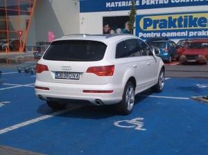 Nesimtitu din parcare